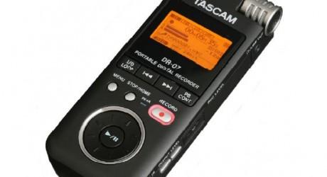 Grabador digital de audio